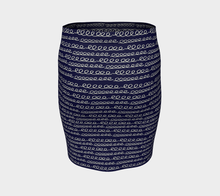 Load image into Gallery viewer, The Evelyn Fitted Skirt-Clash Patterns