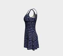 Load image into Gallery viewer, The Evelyn Flare Dress-Clash Patterns