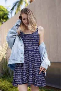 The Evelyn Flare Dress-Clash Patterns