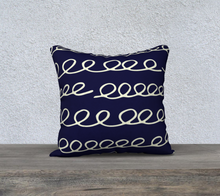 Load image into Gallery viewer, The Evelyn Reversible Pillow-Clash Patterns