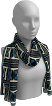Load image into Gallery viewer, The Gia Long Scarf in Purple and Blue