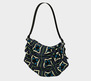 The Gia Origami Bag-Clash Patterns