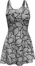 Load image into Gallery viewer, The Gnocchi Flare Dress in Black and White