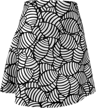 Load image into Gallery viewer, The Gnocchi Flare Skirt in Black and White