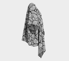 Load image into Gallery viewer, The Gnocchi Kimono in Black and White