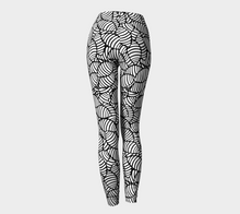 Load image into Gallery viewer, The Gnocchi Leggings in Black and White-Clash Patterns