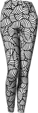 Load image into Gallery viewer, The Gnocchi Leggings in Black and White