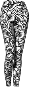 The Gnocchi Leggings in Black and White