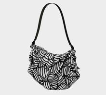 Load image into Gallery viewer, The Gnocchi Origami Bag in Black and White-Clash Patterns