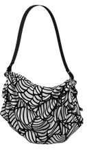 Load image into Gallery viewer, The Gnocchi Origami Bag in Black and White