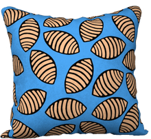 Load image into Gallery viewer, The Gnocchi Pillow in Blue