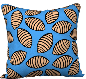 The Gnocchi Pillow in Blue