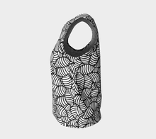 Load image into Gallery viewer, The Gnocchi Tank Top in Black and White-Clash Patterns