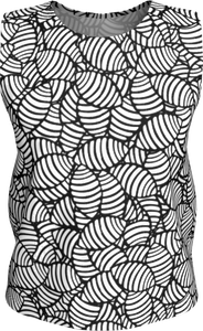 The Gnocchi Tank Top in Black and White