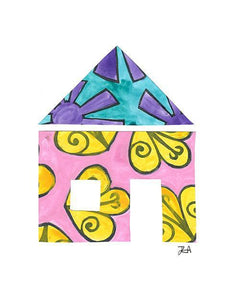 The House Print-at-Home Art Print - Digital Download (19022)-Clash Patterns
