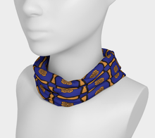 Load image into Gallery viewer, The Jacqueline Headband in Navy and Ochre