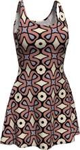 Load image into Gallery viewer, The Jane Flare Dress in Tuscany