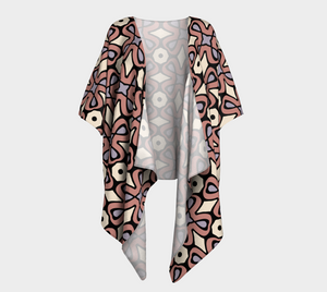 The Jane Kimono in Tuscany-Clash Patterns