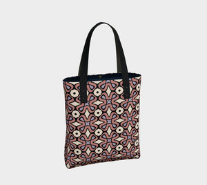 The Jane Tote Bag in Tuscany-Clash Patterns