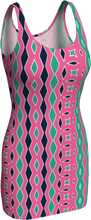Load image into Gallery viewer, The Janelle Fitted Dress in Watermelon