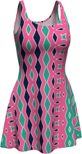 Load image into Gallery viewer, The Janelle Flare Dress in Watermelon