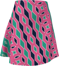 Load image into Gallery viewer, The Janelle Flare Skirt in Watermelon