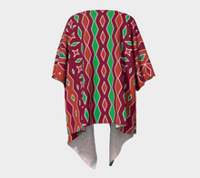 Load image into Gallery viewer, The Janelle Kimono in Sienna-Clash Patterns