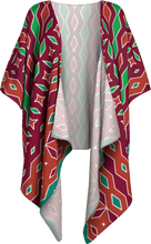Load image into Gallery viewer, The Janelle Kimono in Sienna-Draped Kimono-Clash Patterns by Jennifer Akkermans