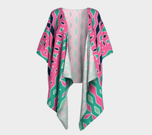 Load image into Gallery viewer, The Janelle Kimono in Watermelon-Clash Patterns