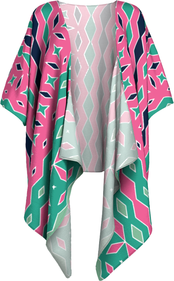 The Janelle Kimono in Watermelon