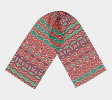 Load image into Gallery viewer, The Janelle Long Scarf in Sienna-Clash Patterns
