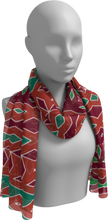 Load image into Gallery viewer, The Janelle Long Scarf in Sienna