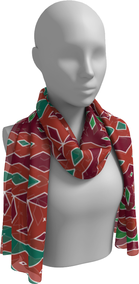 The Janelle Long Scarf in Sienna