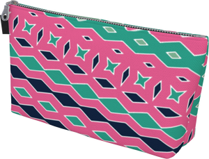 The Janelle Makeup Bag in Watermelon