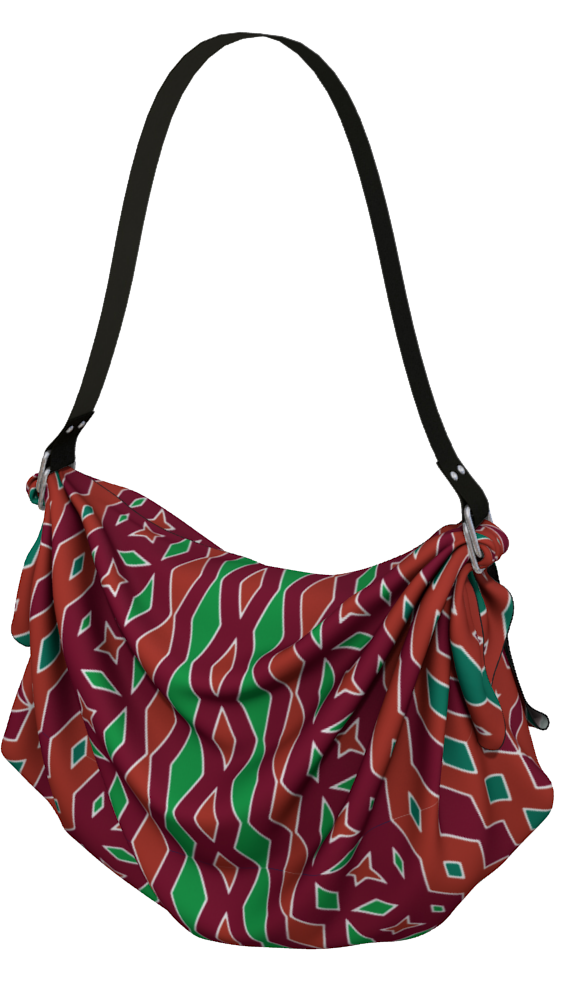 The Janelle Origami Bag in Sienna