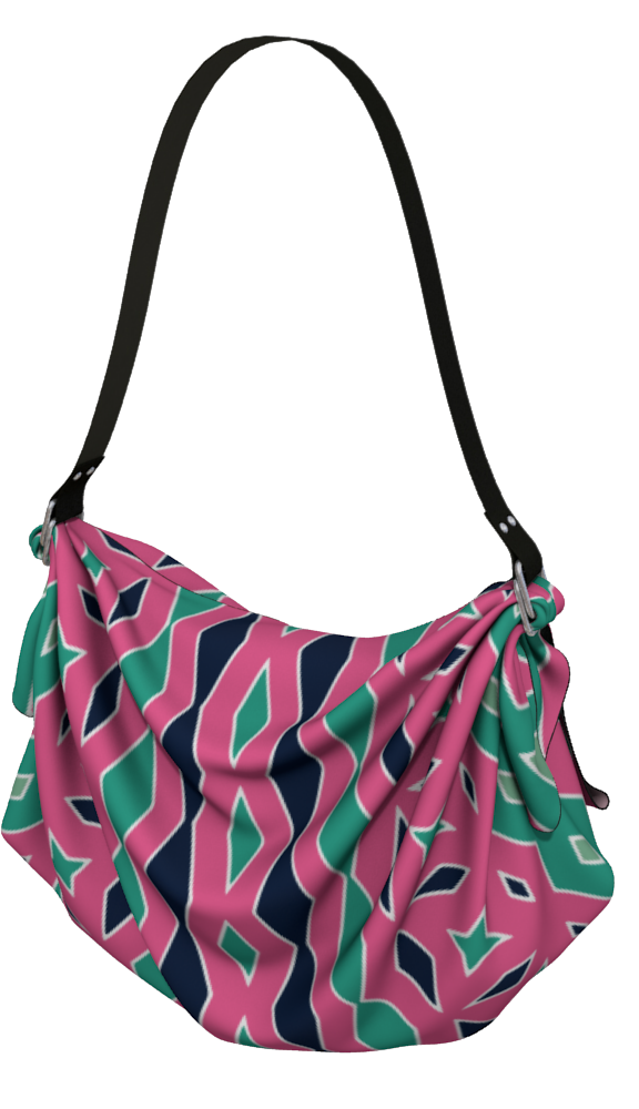 The Janelle Origami Bag in Watermelon