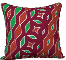 Load image into Gallery viewer, The Janelle Reversible Pillow in Sienna