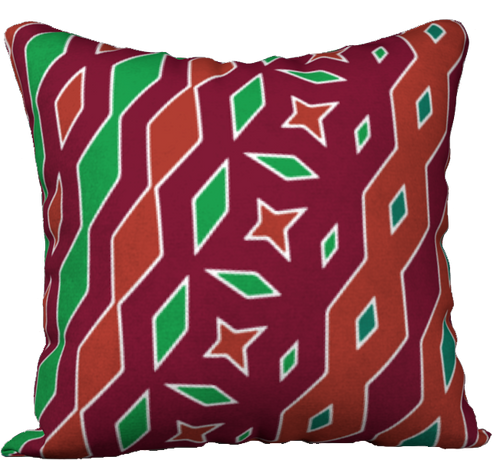 The Janelle Reversible Pillow in Sienna-18