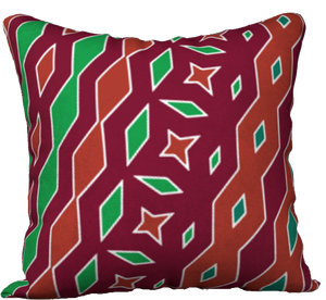 The Janelle Reversible Pillow in Sienna