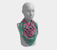 Load image into Gallery viewer, The Janelle Square Scarf in Watermelon