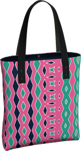The Janelle Tote Bag in Watermelon