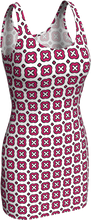 Load image into Gallery viewer, The Jennifer Fitted Dress in Raspberry