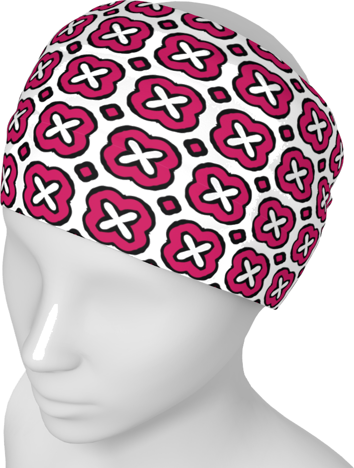 The Jennifer Headband in Raspberry