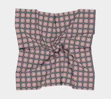 Load image into Gallery viewer, The Jennifer Square Scarf in Pink and Green