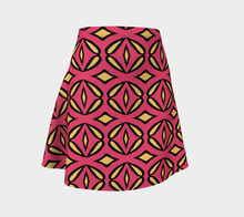 Load image into Gallery viewer, The Julie Flared Skirt-Clash Patterns