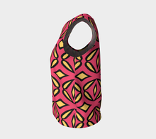Load image into Gallery viewer, The Julie Tank Top in Pink and Yellow-Clash Patterns