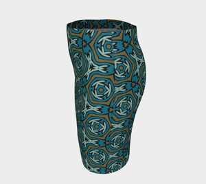 The Kylie Fitted Skirt-Clash Patterns