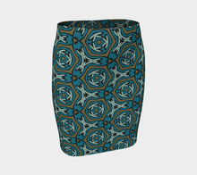 Load image into Gallery viewer, The Kylie Fitted Skirt-Clash Patterns