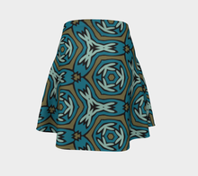 Load image into Gallery viewer, The Kylie Flare Skirt-Clash Patterns