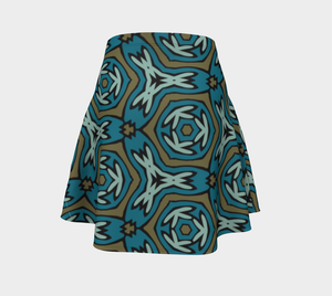 The Kylie Flare Skirt-Clash Patterns